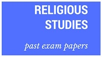 Old matric papers Religious Studies