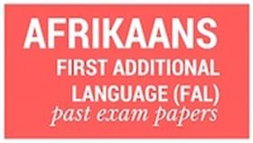 Old matric papers Afrikaans