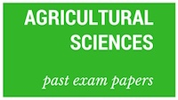 Old matric papers Agricultural Science