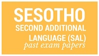 Old matric papers Sesotho