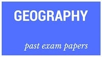 Old matric papers Geography