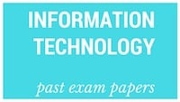 Old matric papers Information Technology
