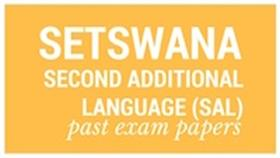 Old matric papers Setswana