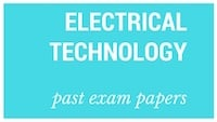 Old matric papers Electrical Technology