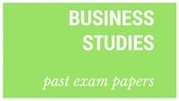 Old matric papers Business Studies