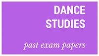 Old matric papers Dance Studies