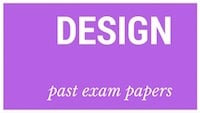 Old matric papers Design