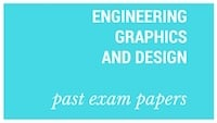 Old matric papers Engineering Graphics and Design