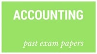 Old matric papers Accounting
