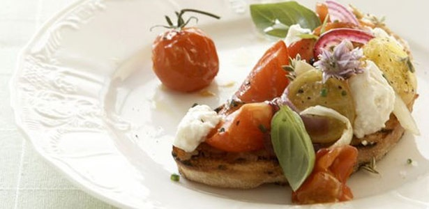 recipe, tomatoes,feta
