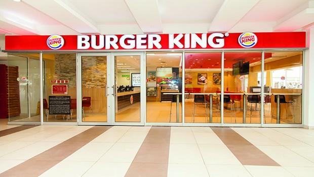 Burger King storefront.