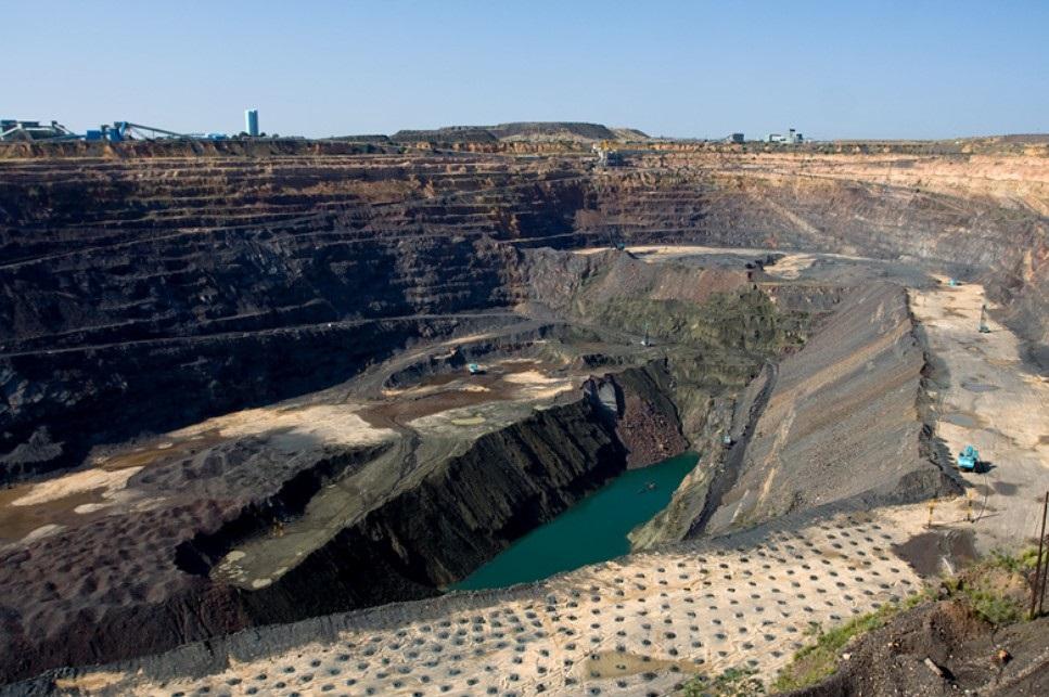 The Jwaneng mine where the diamond was found. Photo: Debswana
