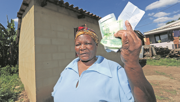 Gogo Faith Mofokeng is one of thousands of prepaid electricity users in Msunduzi who have had 40% deducted from every token they buy. It is believed the deducted amount goes toward their unpaid municipal accounts but Mofokeng said she has not been given any proof showing the money is helping to reduce her arrears.