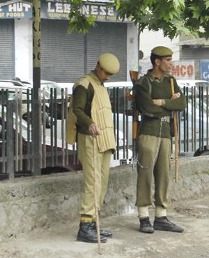 India police.