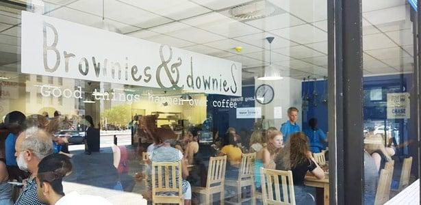 brownies and downies,initiative,coffee shop,restau