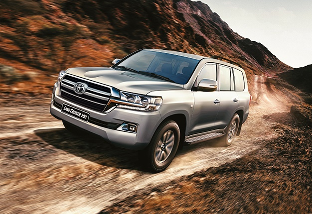 2018 Toyota Land Cruiser: News, Design, Specs, Price >> The Toyota Land Cruiser 200 Undergoes A Few Design Tweaks