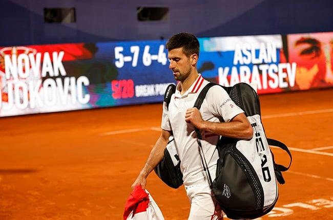Novak Djokovic. (Photo by Srdjan Stevanovic/Getty Images)