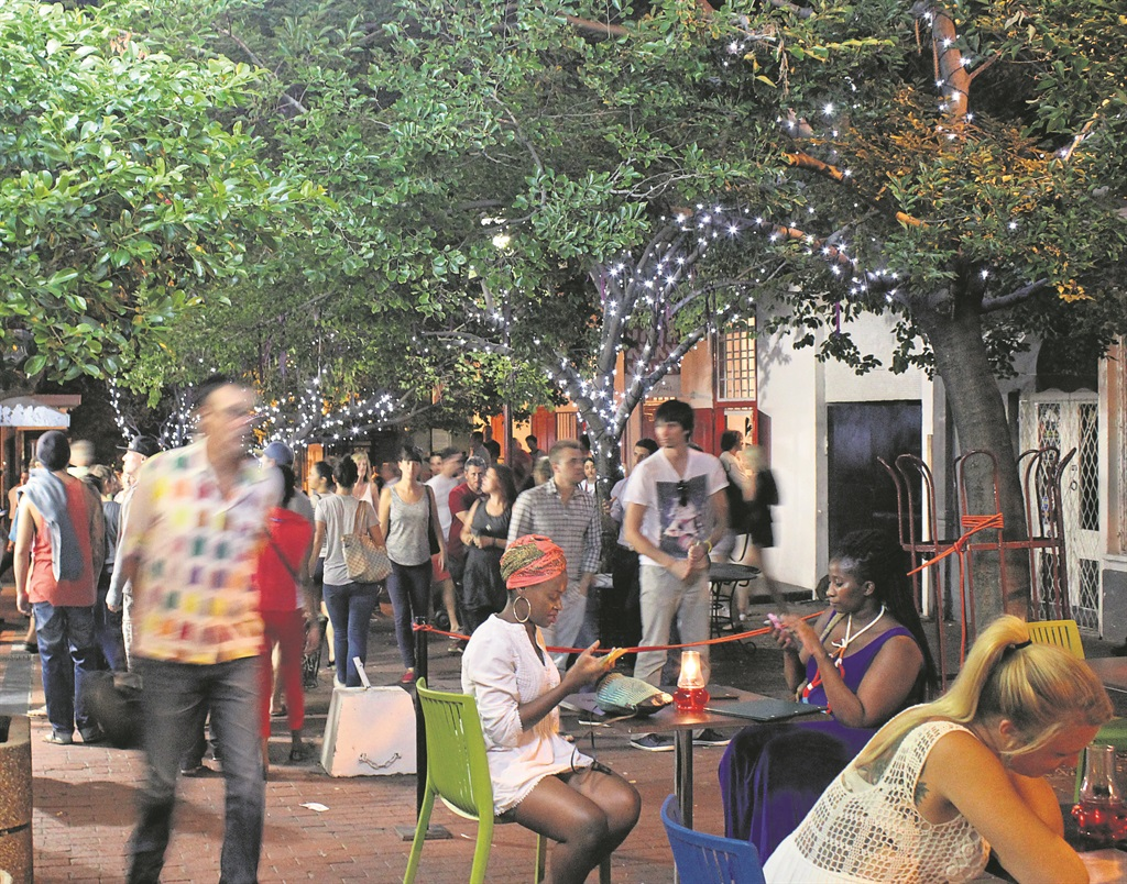 First Thursdays brings thousands of visitors to the CBD, placing strain on services like cleaning and safety. PHOTO: CCID