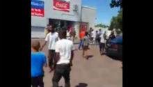 Video shows shop, car looting amid housing unrest in CT