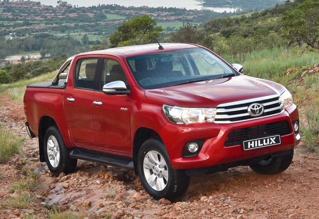 <B>NO.1 BAKKIE:</B> The Toyota Hilux again topped the South African new vehicle sales charts. <I>Image: QuickPic</I>