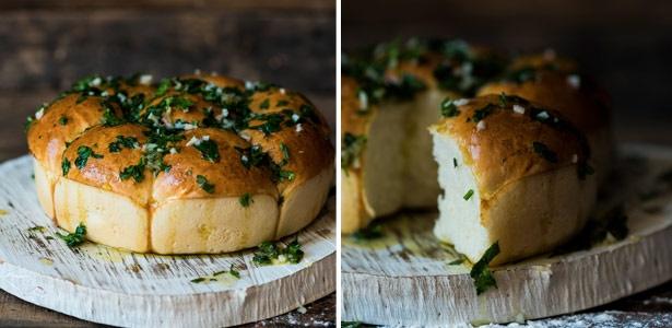 recipe, bake, bread,garlic