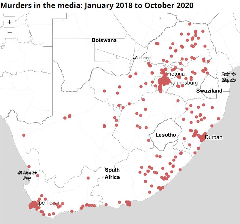 murders in the media