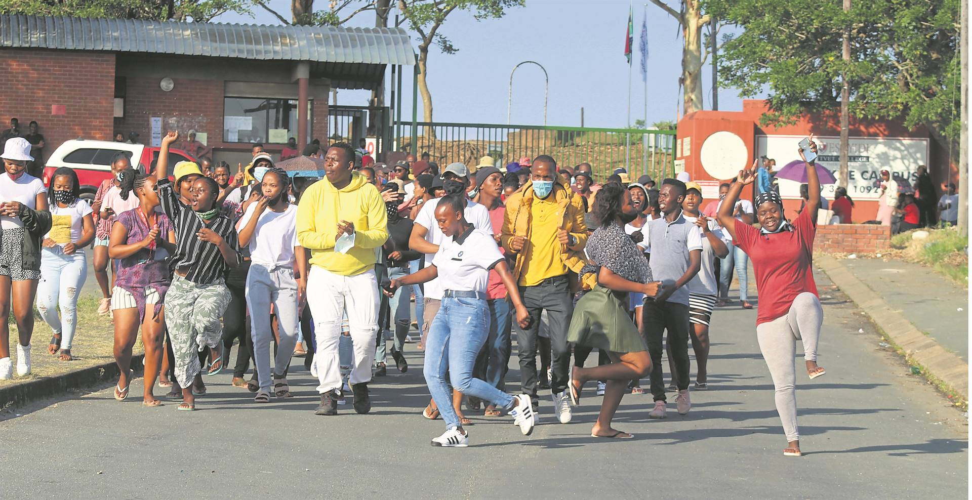 Students at the Esayidi Tvet College on the KZN South Coast say they have also not received their NSFAS allowances.