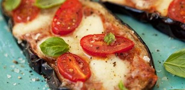 recipe, pizza, aubergine