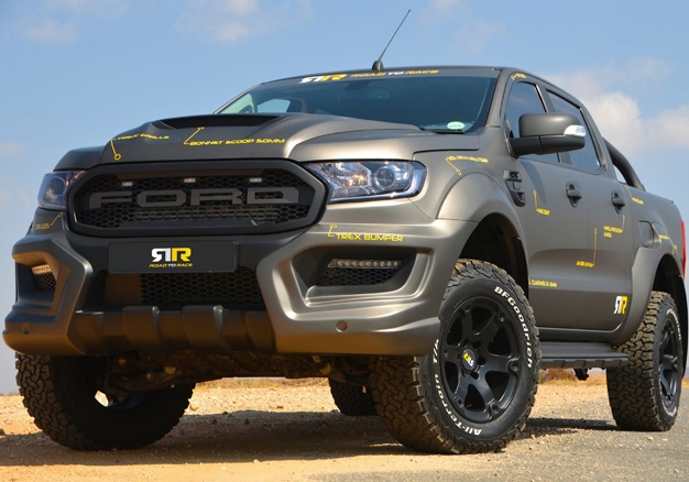 Monster Ranger V8: This Ford bakkie can reach 100km/h in 4 9