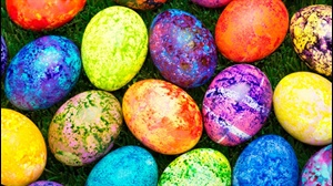 How to make colourful Easter eggs