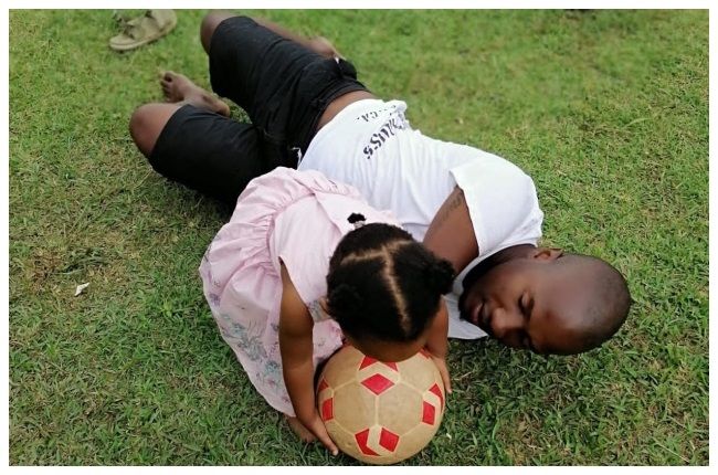 Sibusiso is raising her daughter to understand tha