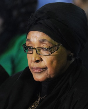 Winnie Mandela Madikizela (File, Stephane de Sakutin, AFP)