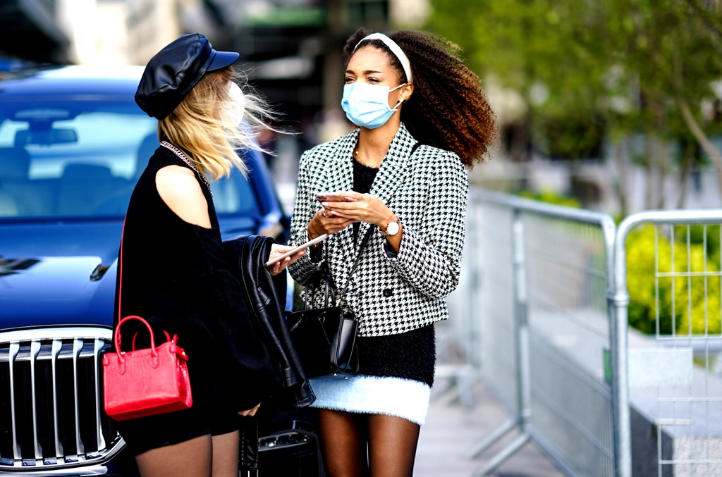 If we don't wear masks and follow the rules of physical distancing, we could go back to a hard lockdown, says the writer.  (Photo by Edward Berthelot/Getty Images)