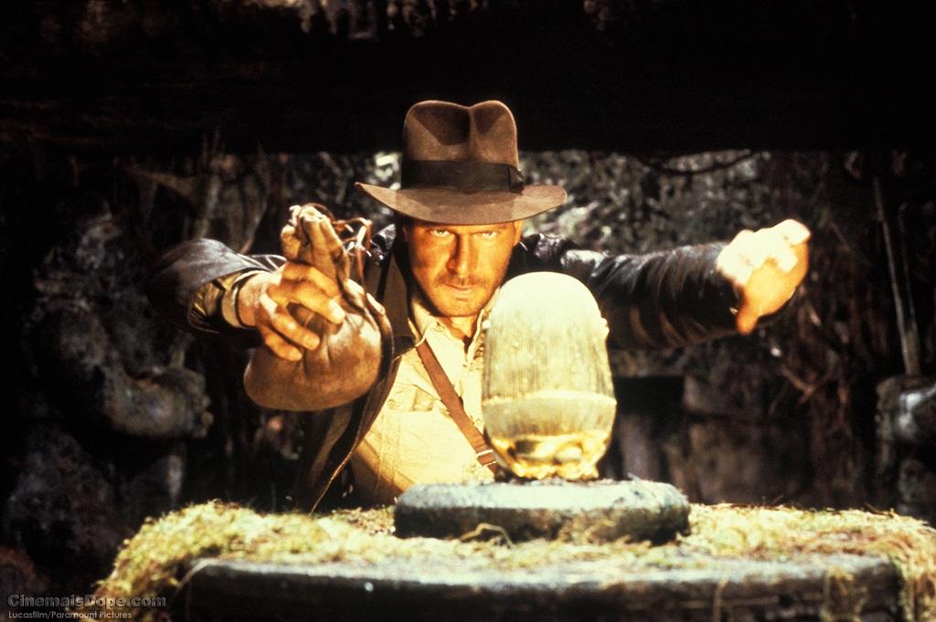 The Raiders of the Lost Ark het die karakter van Indiana Jones tot kultusstatus verhef.  Foto: Argief