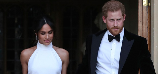 b41425dca81 PICS  Meghan Markle stuns in Stella McCartney evening gown