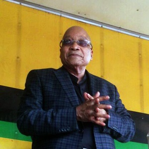 President Jacob Zuma spoke at Soweto Stadium in Johannesburg on Friday, 18 March 2016. He was warmly greeted by thousands of COSAS members.
