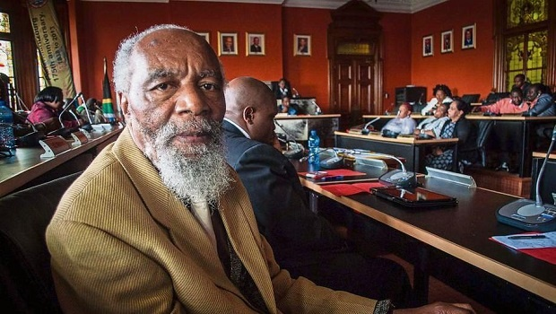 ANC stalwart and Msunduzi Municipality chief whip Truman Magubane during a full council meeting.
