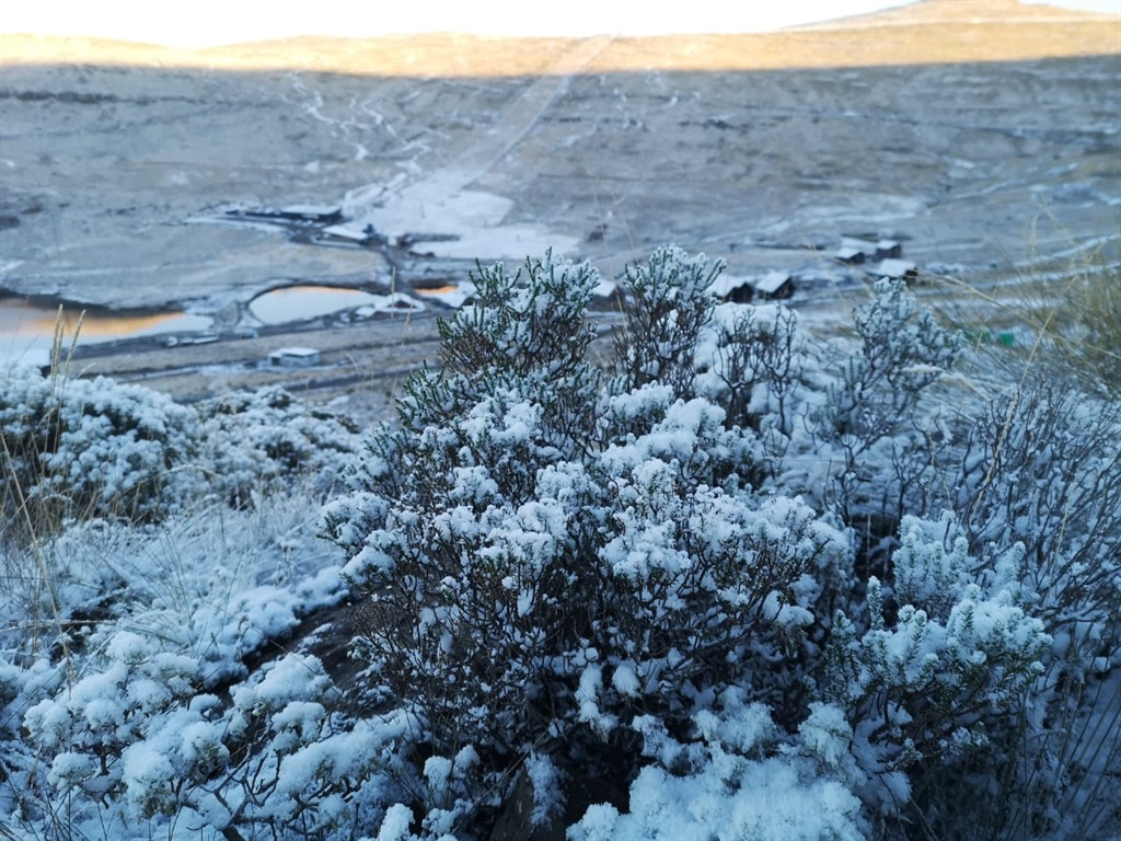 The Afriski Mountain Resort in Lesotho during previous snows.