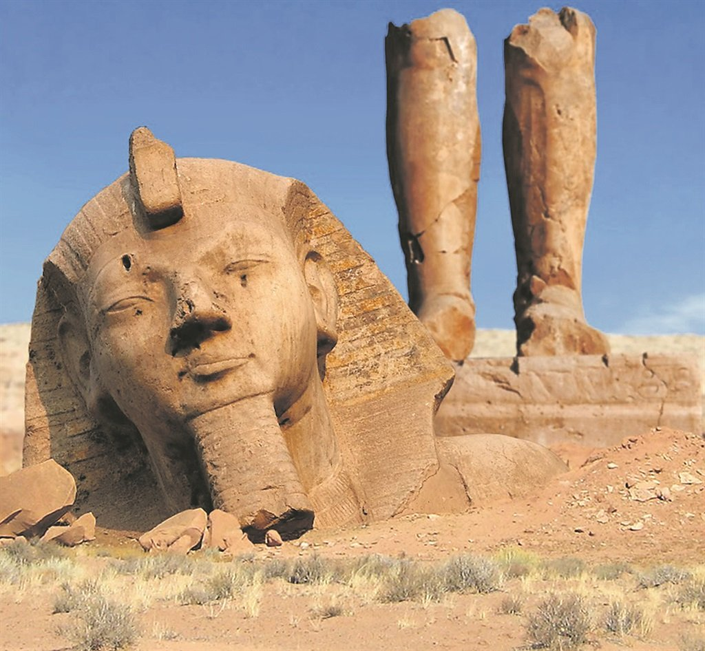 an analysis of the broken statue of ozymandias in egypt Brief summary of the poem ozymandias  the statue is broken apart, but you  can still make out the face of a person the face looks stern and powerful, like a.