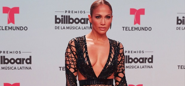 PICS Jennifer Lopez Wows In See Through Dress