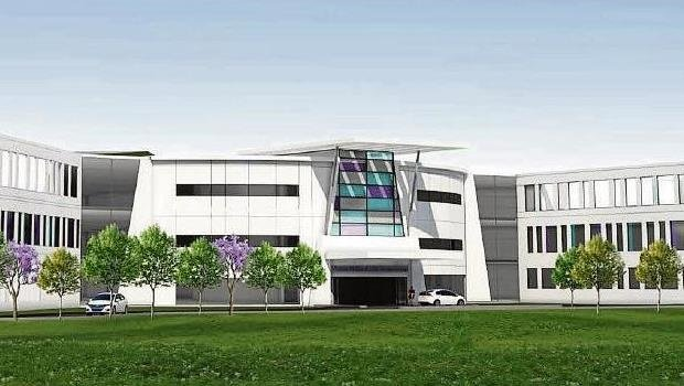 An impression of what the Victoria Mother and Child Centre of Excellence will look like.