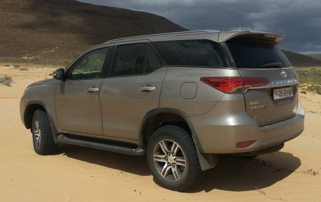 Fortuner favours the brave: We drive Toyota's new 4x4 in SA