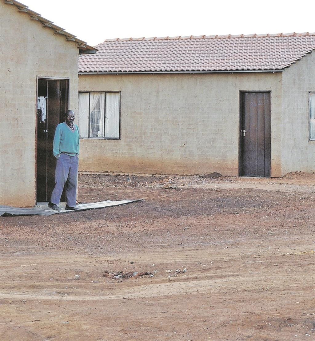 TOWNSHIP CHANGES RDP houses in Extension 6 of Soshanguve, Gauteng.            Picture: Phetolo Motloutsi