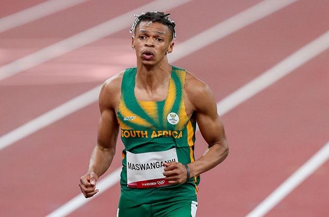 South African sprinter Shaun Maswanganyi