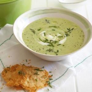recipe, soup, asparagus, peas,light meals