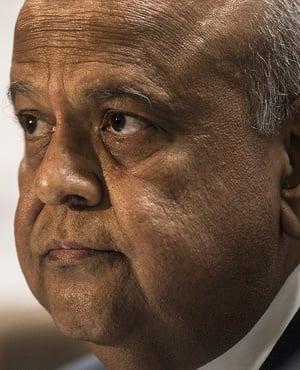 Finance Minister Pravin Gordhan. (Photo: Bloomberg)
