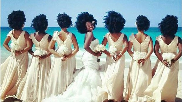 5 Natural Bridal Hairstyles Worth Ditching Your Veil For