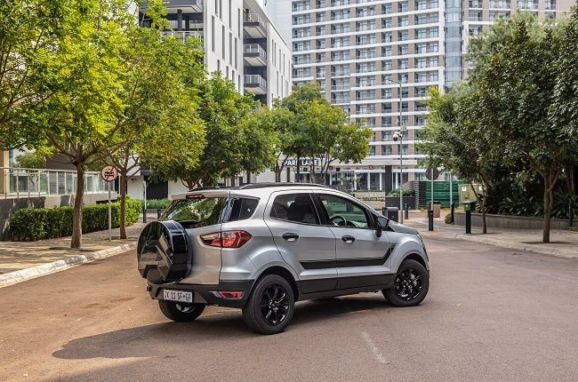 2021 Ford Ecosport Black limited edition