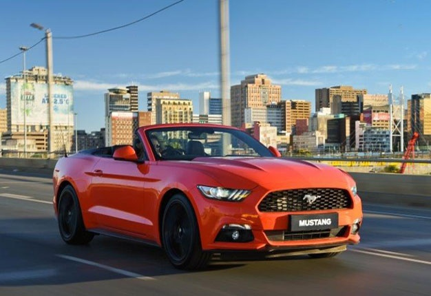 SAs Topselling Sports Cars Mustang On Top During Festive Season - Best rated sports car