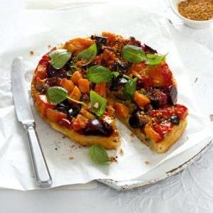 recipe, roasted, vegetables, savoury, tart,vegetar